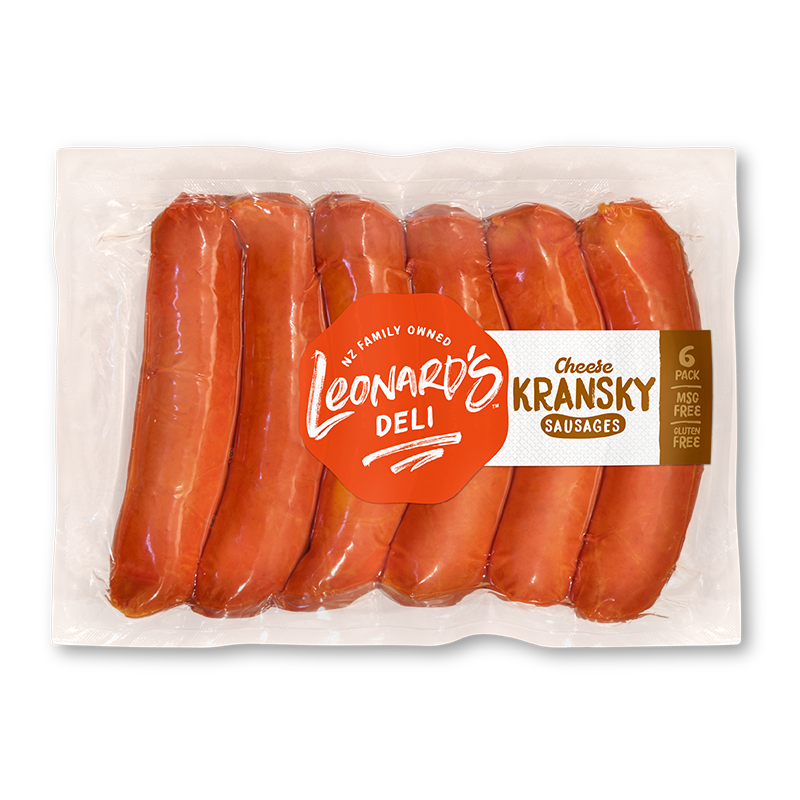 Cheese Kransky Sausages