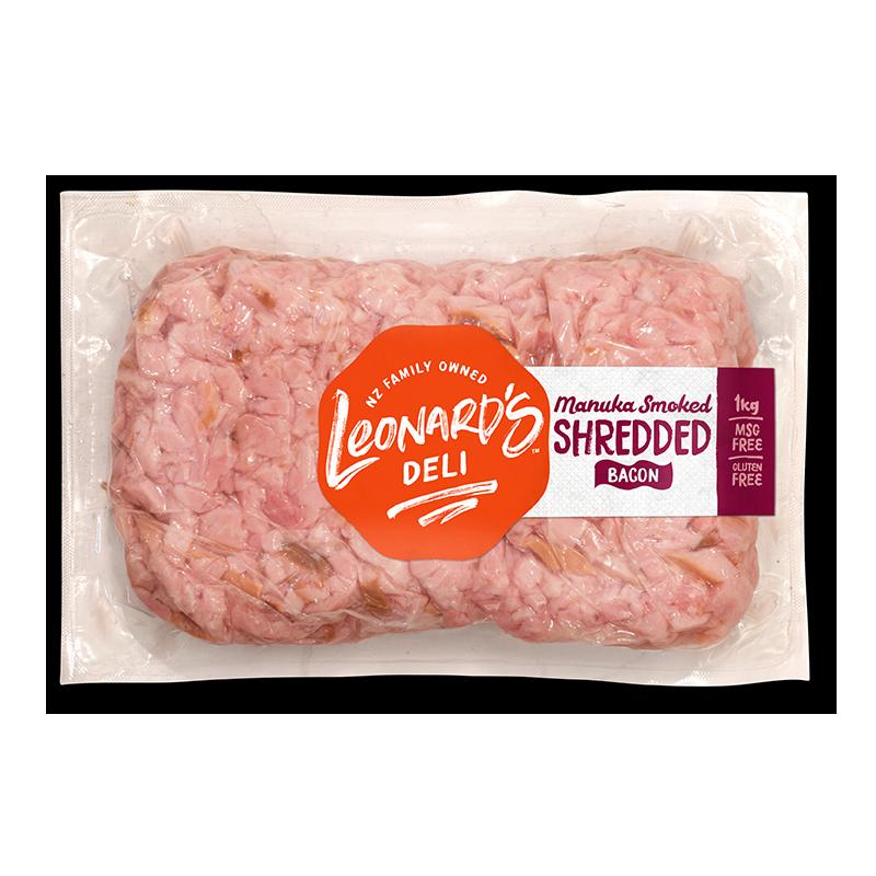 Manuka Smoked Shredded Bacon