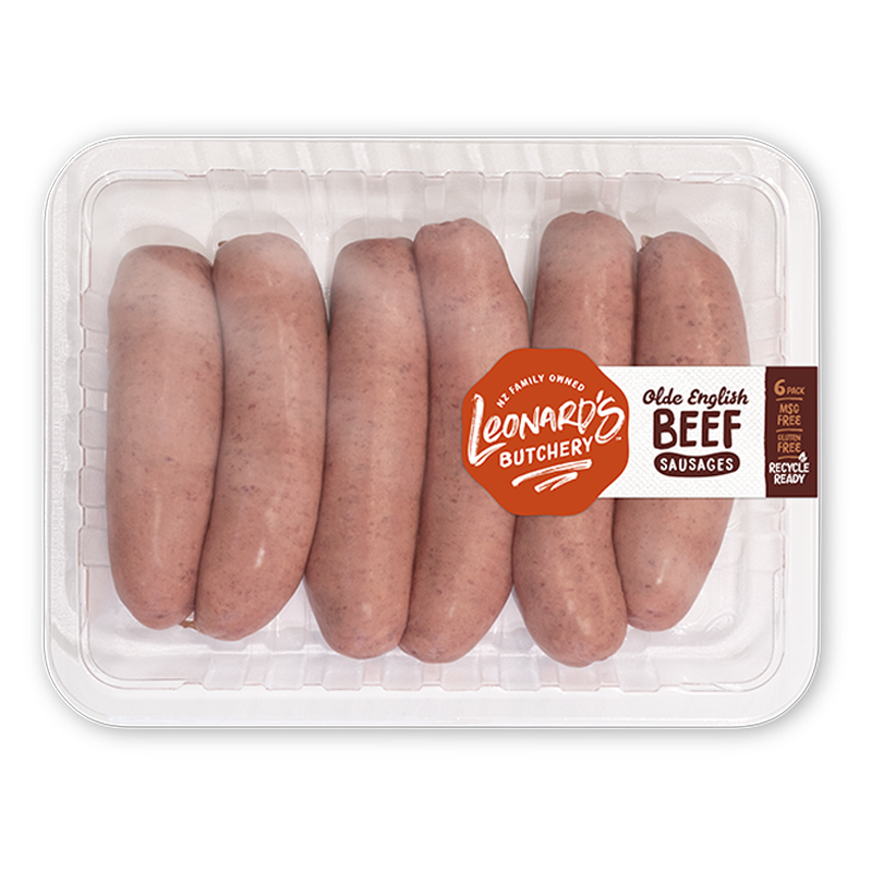 Olde English Beef Sausages