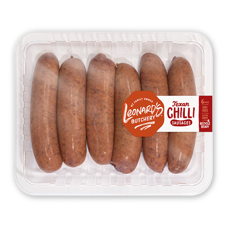 Texan Chilli Sausages